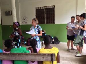 teaching at Open door