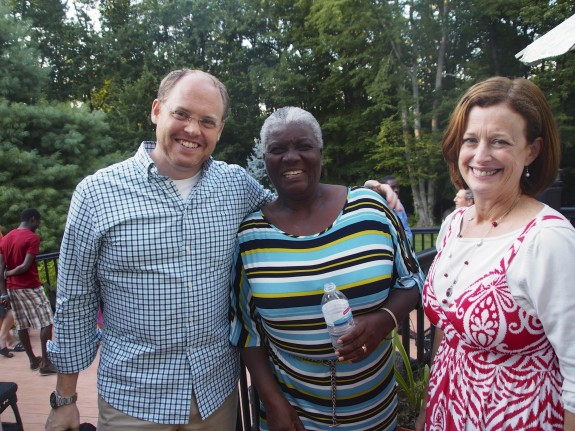 Executive Director, Lamar Parkin and President Dr. Jill Ratner with