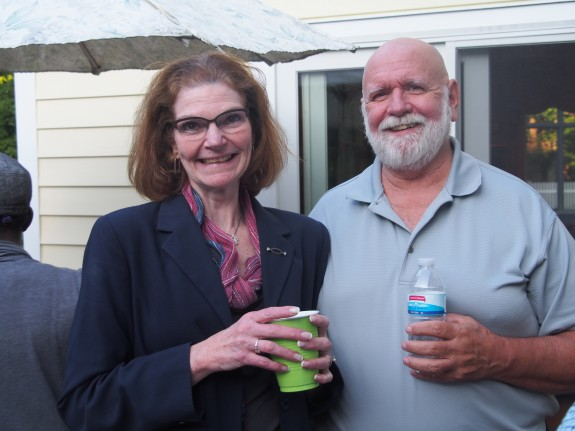 Board member and team leader, Judy McAVoy with her husband Jim.
