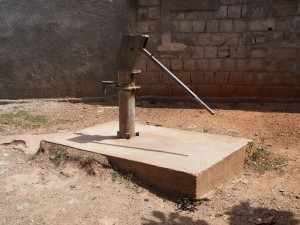 Water well in Haiti